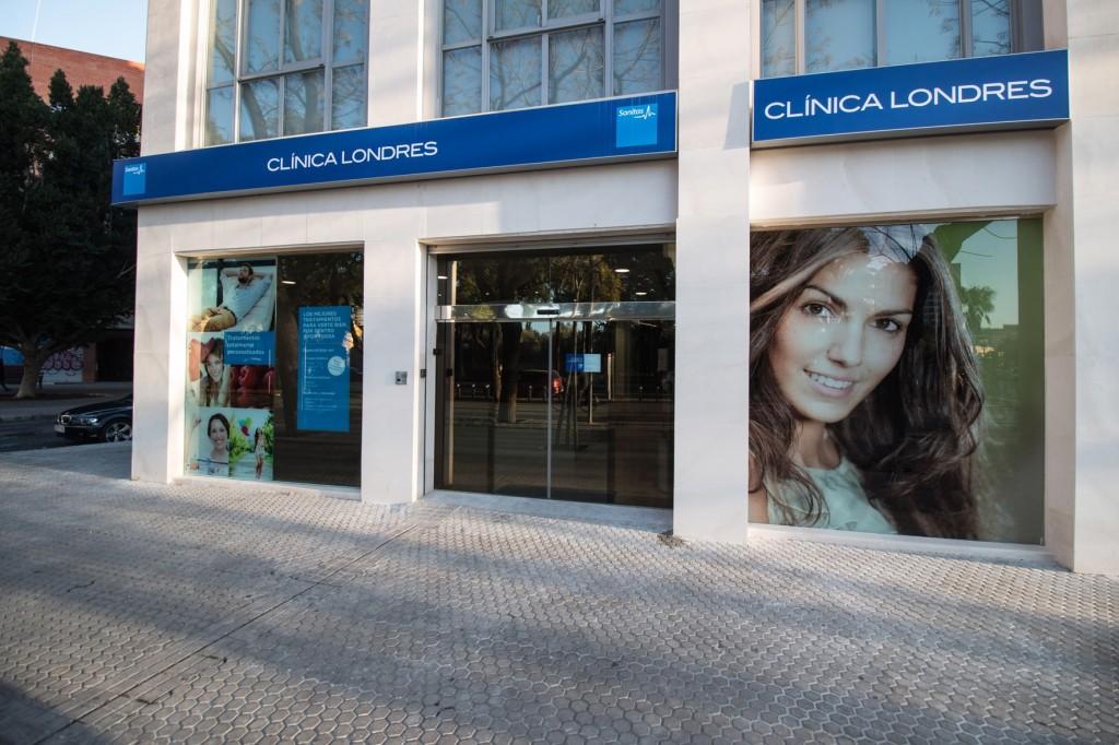 Exterior Clínica Londres Sevilla