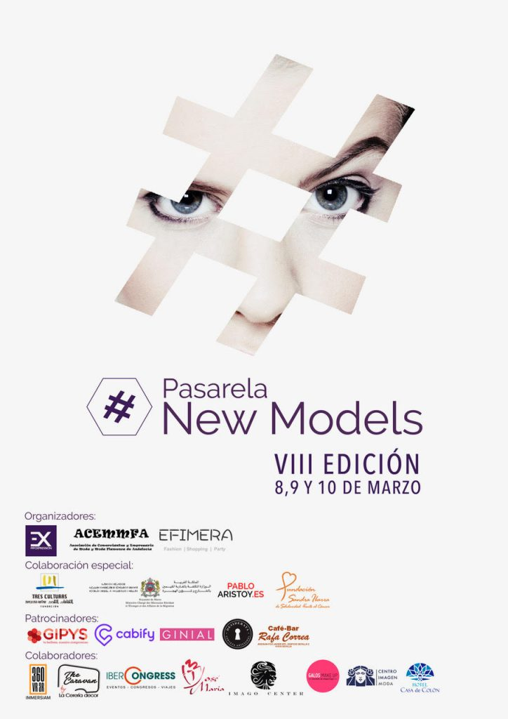Cartel Pasarela New Models