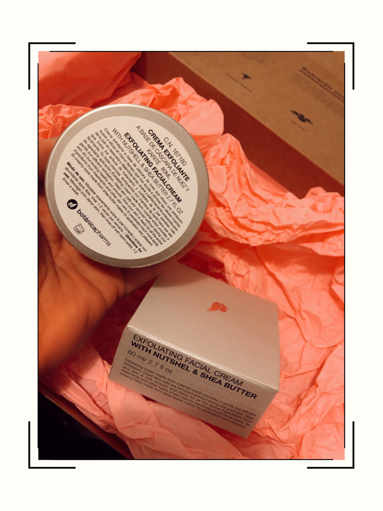 Crema exfoliante de BotanicaPharma